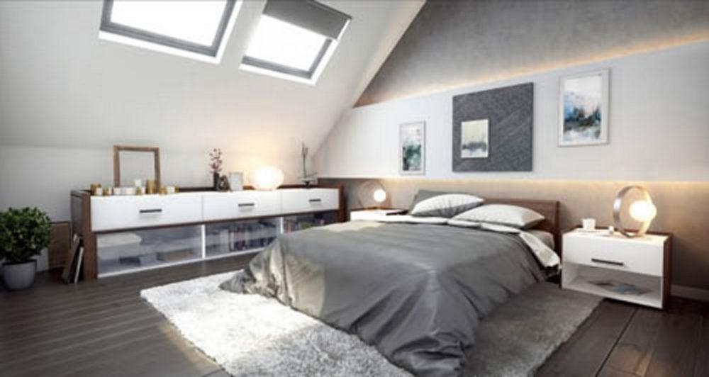 camera letto attico