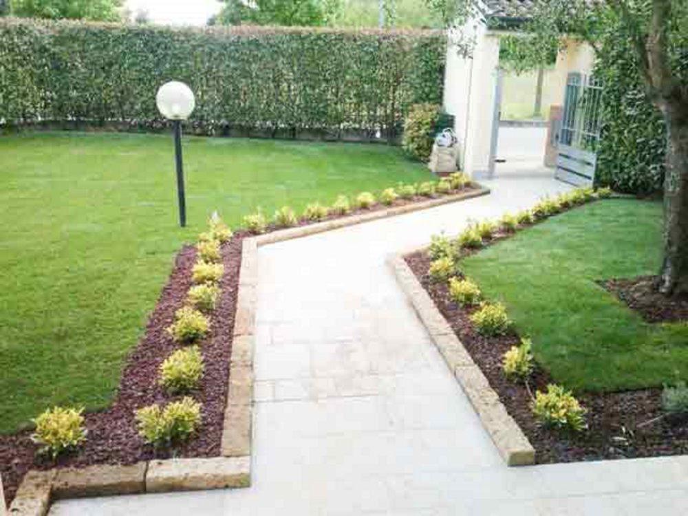 Creazione e manutenzione giardini di una villetta