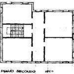 2 piano plan. villa Torreglia