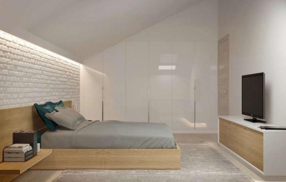 arredare-la-camera-da-letto-in-mansarda