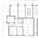 Planim. BL-G1 3 camere giardino