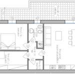 planim. appartamenti 3 P. piano Legnaro BN