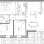 planim. appartamenti 4 P. piano Legnaro BN