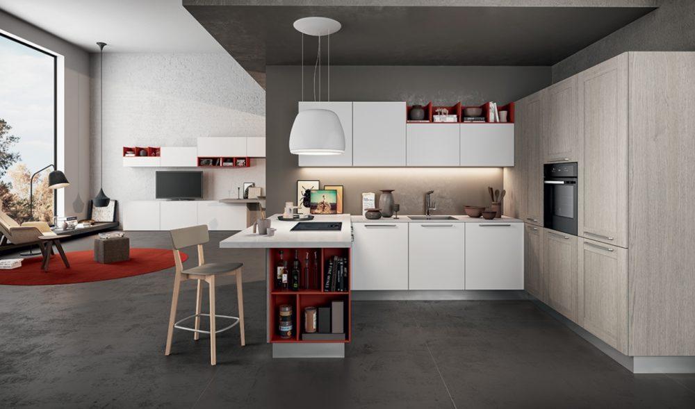 cucina-soggiorno app. 257 P.T.
