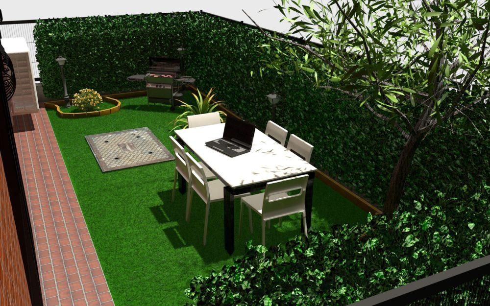 giardino app. 220 P.T.