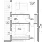 App. A5 – A10 Piano primo e secondo 2 camere