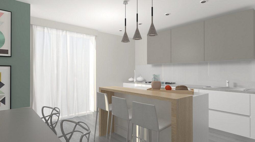 cucina a vista L8
